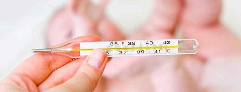 Высокая температура после укуса насекомых у ребенка